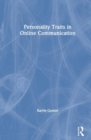 Personality Traits in Online Communication - Book