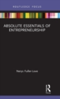 Absolute Essentials of Entrepreneurship - Book