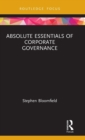 Absolute Essentials of Corporate Governance - Book