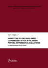 Monotone Flows and Rapid Convergence for Nonlinear Partial Differential Equations - Book