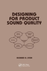 Designing for Product Sound Quality - Book
