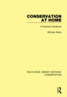 Conservation at Home : A Practical Handbook - Book