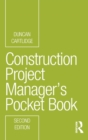 Construction Project Manager's Pocket Book - Book
