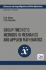 Group-Theoretic Methods in Mechanics and Applied Mathematics - Book