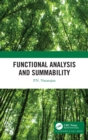 Functional Analysis and Summability - Book