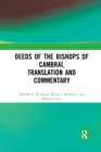 Deeds of the Bishops of Cambrai, Translation and Commentary - Book