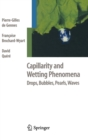 Capillarity and Wetting Phenomena : Drops, Bubbles, Pearls, Waves - Book