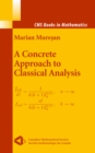 A Concrete Approach to Classical Analysis - eBook