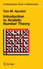 Introduction to Analytic Number Theory - Book