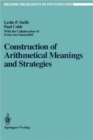 Construction of Arithmetical Meanings and Strategies - Book