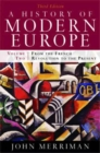 A History of Modern Europe : From the French Revolution to the Present - Book