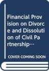 Financial Provision on Divorce and Dissolution of Civil Partnerships - Book