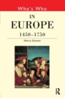 Who's Who in Europe 1450-1750 - Book