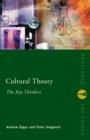 Cultural Theory: The Key Thinkers - Book