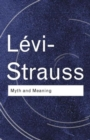 Myth and Meaning - Book