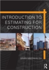 Introduction to Estimating for Construction - Book
