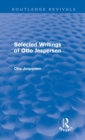 Selected Writings of Otto Jespersen - Book