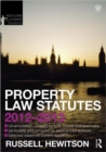 Property Law Statutes 2012-2013 - Book