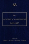 The Academy of Management Annals, Volume 2 - Book