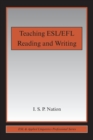 Teaching ESL/EFL Reading and Writing - Book