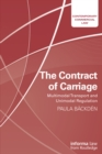 The Contract of Carriage : Multimodal Transport and Unimodal Regulation - eBook