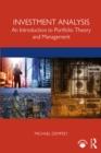 Investment Analysis : An Introduction to Portfolio Theory and Management - eBook