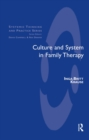 Culture and System in Family Therapy - eBook