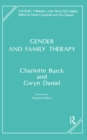 Gender and Family Therapy - eBook