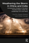 Weathering the Storm in China and India : Comparative Analysis of Societal Transformation under the Leadership of Xi and Modi - eBook