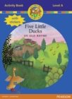 Jamboree Storytime Level A: Five Little Ducks Activity Book with Stickers - Book