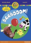 Jamboree Storytime Level A: Baabooom Activity Book with Stickers - Book