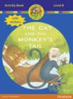 Jamboree Storytime Level B: The Cat and the Monkey's Tail Activity Book with Stickers - Book