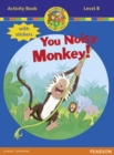 Jamboree Storytime Level B: You Noisy Monkey Activity Book with Stickers - Book