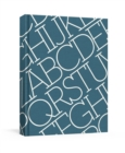 House Industries Indigo Linen Journal - Book