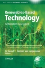 Renewables-Based Technology : Sustainability Assessment - eBook