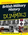 British Military History For Dummies - Book