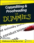 Copyediting and Proofreading For Dummies - Book