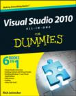 Visual Studio 2010 All-in-One For Dummies - Book