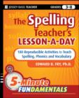 The Spelling Teacher's Lesson-a-Day - eBook