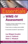 Essentials of Wms-iv Assessment - Book