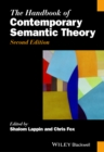 The Handbook of Contemporary Semantic Theory - Book