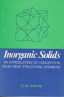 Inorganic Solids : Introduction to Concepts in Solid-state Structural Chemistry - Book