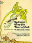 Rackham's Fairy Tale Colouring Book - Book