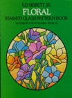Floral Stained Glass Pattern Book - Book