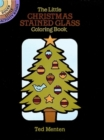 The Little Christmas Stained Glass Coloring Book - Book