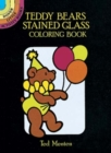 Teddy Bears Stained Glass Coloring Book - Book