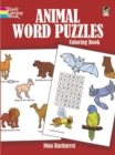Animal Word Puzzles Coloring Book - Book