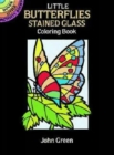 Little Butterflies Stained Glass Colouring Book - Book