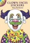 Clown Faces Stickers - Book