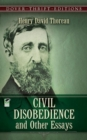 Civil Disobedience and Other Essays - Book